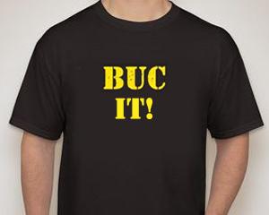 BUC male t-shirt - BUC It!