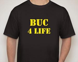 BUC male t-shirt - BUC 4 Life