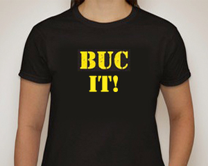 BUC female t-shirt - BUC It!