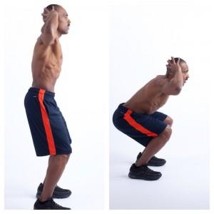 Body Weight Squat Mix 2