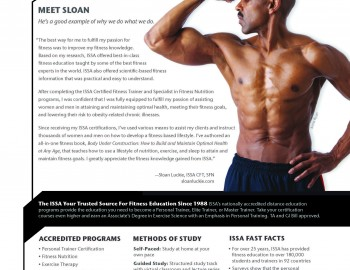 Sloan Featured in June Issue of Flex and Muscle & Fitness Magazine