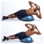 Bosu Oblique Crunches Smaller