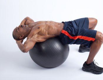 Stability-Ball Crunch