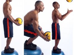 Bosu Toss & Catch